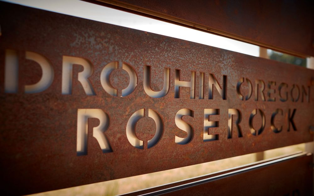 Drouhin Oregon Roserock sign
